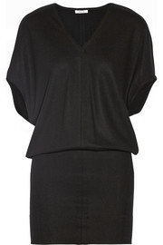 Helmut Lang Sonar wool mini dress