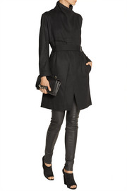 Helmut Lang Wool-felt trench coat