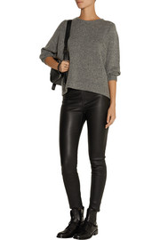 Helmut Lang Cutout wool-blend sweater