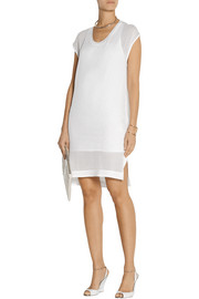 Helmut Lang Draped jersey dress