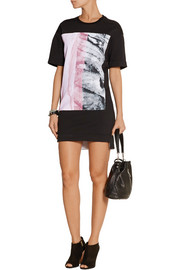 Helmut Lang Mason printed cotton mini dress