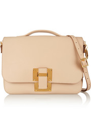 Soft Flap leather shoulder bag