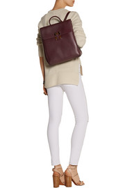 Sophie Hulme Soft Flap leather backpack