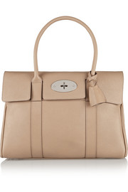 The Bayswater textured-leather bag