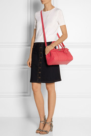The Bayswater small textured-leather shoulder bag