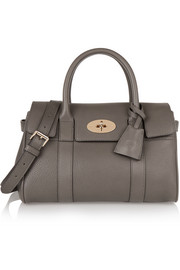 Mulberry The Bayswater small textured-leather tote