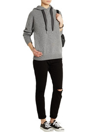 Marc by Marc Jacobs Jackson wool and cotton-blend hooded sweatshirt