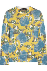 Marc by Marc Jacobs Jerrie floral-print jersey sweatshirt