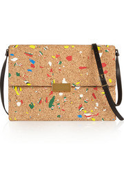 Stella McCartney Beckett cork-effect shoulder bag