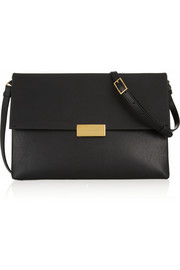 Beckett faux leather shoulder bag