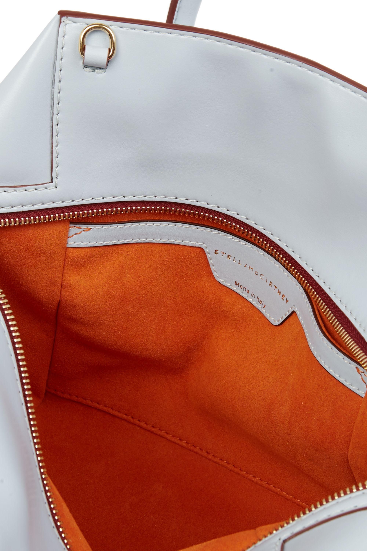 Stella McCartney Cavendish small cutout faux leather tote