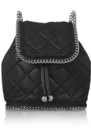 The Falabella mini quilted faux leather backpack