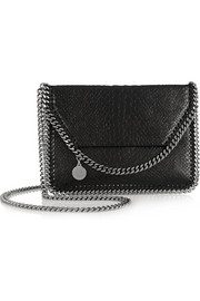 Stella McCartney The Falabella mini faux python shoulder bag