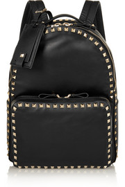 The Rockstud medium leather backpack