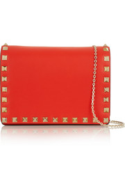 The Rockstud small leather shoulder bag
