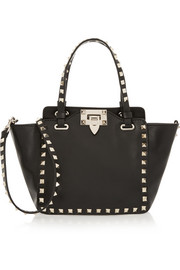Valentino The Rockstud mini leather trapeze bag