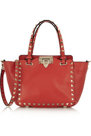 The Rockstud mini leather tote
