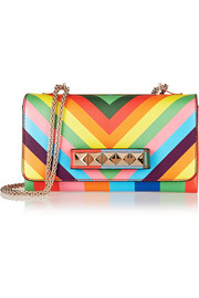 Valentino Va Va Voom printed leather shoulder bag