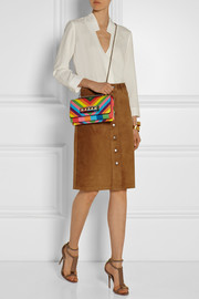 Va Va Voom printed leather shoulder bag