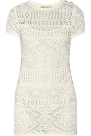 Emilio Pucci Crocheted cotton dress