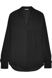 American Vintage Jamestown silk-georgette shirt