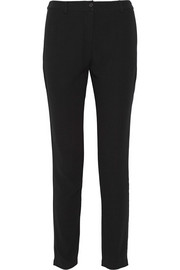 Holiester crepe tapered pants