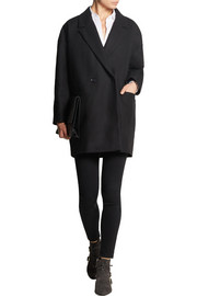 Grayson oversized wool-blend coat