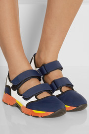 Marni Paneled mesh sneakers