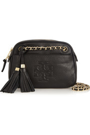 Tory Burch Thea textured-leather shoulder bag