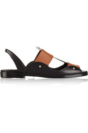 Maiyet Leather and canvas sandals
