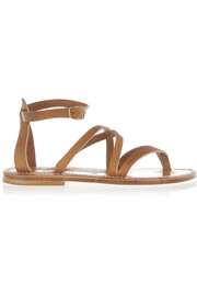 Epicure leather sandals