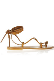 Bikini leather sandals