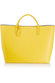 Smythson Panama large textured-leather tote