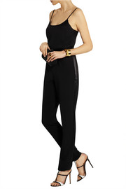 Grace MMXIII Andie stretch-crepe jumpsuit