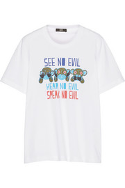 Markus Lupfer See No Evil cotton T-shirt