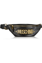 Embellished leather belt bag