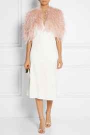 Jenny Packham Feather shrug