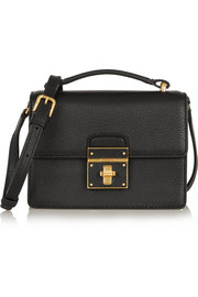 Rosalita mini textured-leather shoulder bag