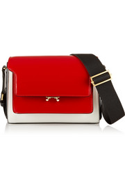 Marni Metal Trunk small leather shoulder bag
