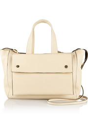 City small leather bag