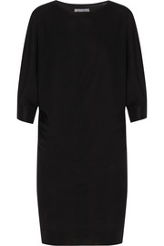 Merino wool sweater dress