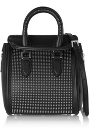 The Heroine mini studded leather shoulder bag