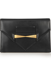 Legend leather envelope clutch