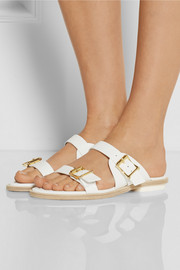 Rupert Sanderson Thira leather sandals