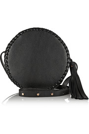 Canteen medium whipstich leather shoulder bag
