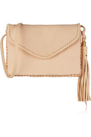 Wendy Nichol Whipstitch Middle Earth textured-leather shoulder bag