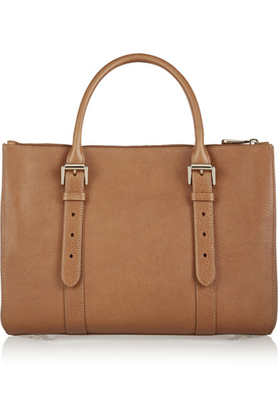 Mulberry   The Bayswater Double Zip textured-leather tote   NET-A ... ef15e6f57f