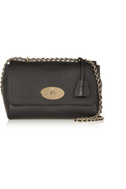 Mulberry Lily medium textured-leather shoulder bag