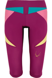 Paragon color-block stretch Capri leggings