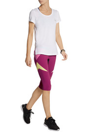 Lucas Hugh Paragon color-block stretch Capri leggings